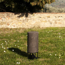Tall Cylinder terracotta etruscanclay | Sistemi audio | Architettura Sonora