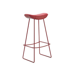 Kya | Barstool with wire frame | Taburetes de bar | Freifrau Sitzmöbelmanufaktur