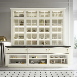 Kelly | Display cabinets | Snaidero USA