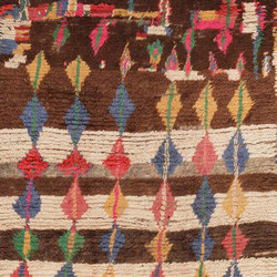 Mid Century Moroccan Rug | Tappeti / Tappeti d'autore | Nazmiyal Rugs