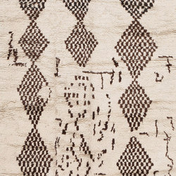 Mid Century Vintage Beni Ourain Moroccan Rug | Rugs | Nazmiyal Rugs