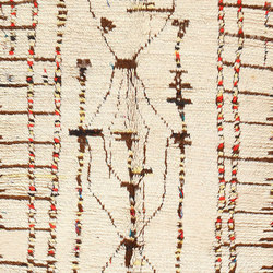 Mid Century Vintage Tribal Moroccan Rug | Rugs | Nazmiyal Rugs