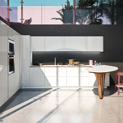 Ola 25 L.E. | white | Fitted kitchens | Snaidero USA