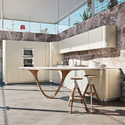 Ola 20 | bianco nordic | Fitted kitchens | Snaidero USA