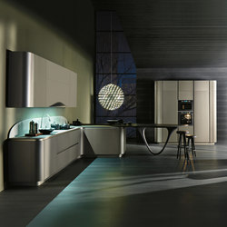 Ola 20 | grigio cemento | Fitted kitchens | Snaidero USA