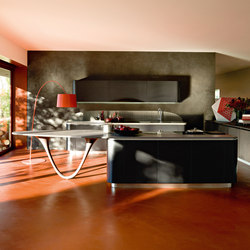 Ola 20 | nero extra | Fitted kitchens | Snaidero USA