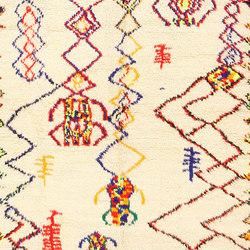 Vintage Beni Ourain Shaggy Moroccan Rug | Rugs | Nazmiyal Rugs
