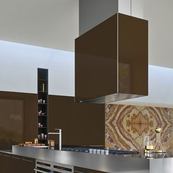 Opera | absolute brown | Kitchen hoods | Snaidero USA