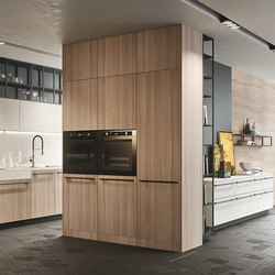 Opera | olmo natural | Kitchen cabinets | Snaidero USA