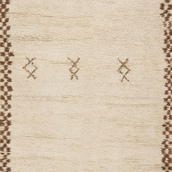 Vintage Mid Century Beni Ourain Moroccan Rug | Rugs | Nazmiyal Rugs