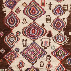 Vintage Mid Century Folk Art Moroccan Rug | Rugs | Nazmiyal Rugs