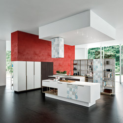 Orange Evo. | Island kitchens | Snaidero USA