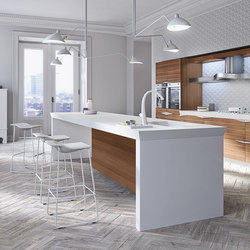 Time | Island kitchens | Snaidero USA
