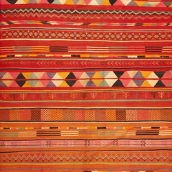Vintage Moroccan Kilim | Tappeti / Tappeti d'autore | Nazmiyal Rugs