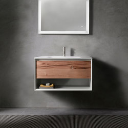 45º furniture | UP • series 700 wall-mount vanity | Armarios lavabo | Blu Bathworks