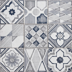 Betonstil MixDecò Deep Navy satin | Ceramic tiles | TERRATINTA GROUP