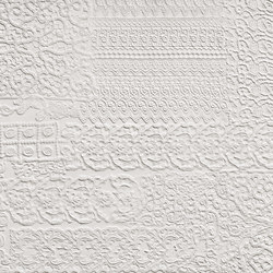 Arte Pura Rilievi Bianco | Ceramic panels | Refin