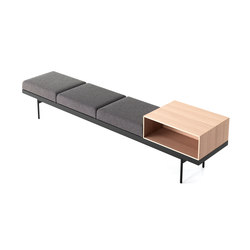 Brick | bench | Waiting area benches | CACCARO