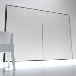 Flat | wardrobe sliding doors XL | Cabinets | CACCARO