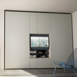 Flat | wardrobe tv | Muebles Hifi / TV | CACCARO