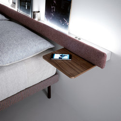 Groove | bed | Night stands | CACCARO