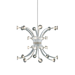 Jei Jei suspension Maxi (32 lampe) | Chandeliers | Penta