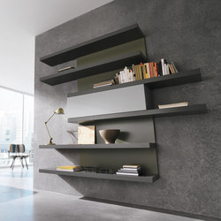 Movida | wall unit | Shelving | CACCARO