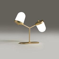 Lula lampe à poser petite double | Luminaires de table | Penta