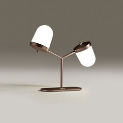 Lula small double table lamp | General lighting | Penta