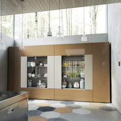 Roomy | showcase module | Cabinets | CACCARO