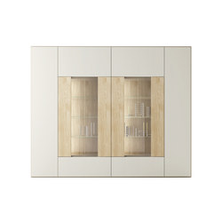 Roomy | showcase module | Display cabinets | CACCARO