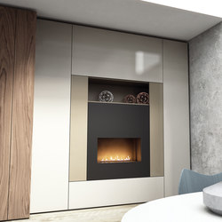 Roomy | fireplace module | Cabinets | CACCARO