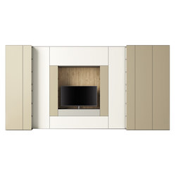 Roomy tv module cabinets from caccaro architonic for Caccaro roomy