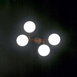 Mamì 4 lights wall lamp | Wall lights | Penta
