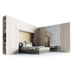 Roomy | niche + wardrobe module | Armarios | CACCARO