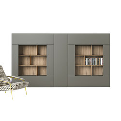 Roomy | bookcase modules | Schränke | CACCARO