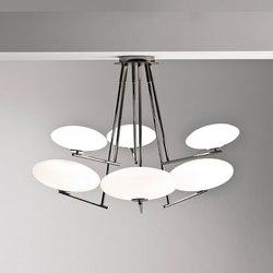 Mamì large pendant (6 lights) | Suspended lights | Penta