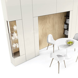Roomy | showcase + niche + wardrobe module | Cabinets | CACCARO