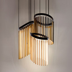 Stickbulb Custom | Chime Chandelier | Suspended lights | STICKBULB