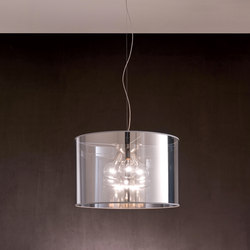 Fabric Pendants - Mirroring PVC Pendants | Suspended lights | Penta
