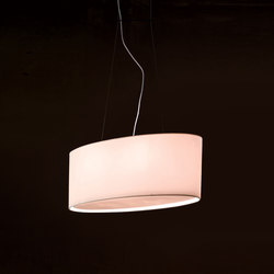 Fabric Pendants - Oval | Suspended lights | Penta