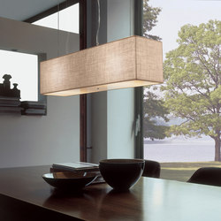 Fabric Pendants - Rectangular | Suspended lights | Penta