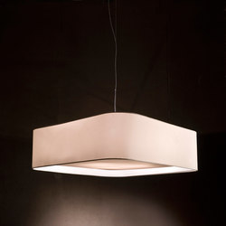 Fabric Pendants - Square | Suspended lights | Penta