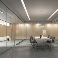 DV602-Single glass 05 | Wall partition systems | DVO