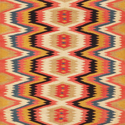 Fine and Beautiful Vintage Swedish Kilim Rug | Tappeti / Tappeti d'autore | Nazmiyal Rugs
