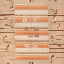 Flat Woven Room Size Vintage Swedish Kilim Rug | Tappeti / Tappeti d'autore | Nazmiyal Rugs