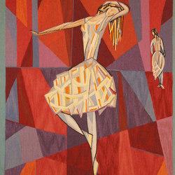 Lars Gynning Vintage Scandinavian Tapestry | Rugs / Designer rugs | Nazmiyal Rugs