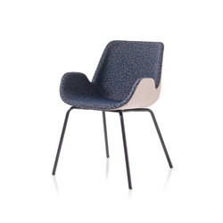 Twelve 4 legs | Visitors chairs / Side chairs | DVO