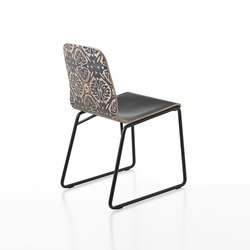 Ultralight 06 Second Skin | Restaurant chairs | DVO