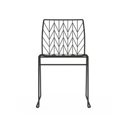 Fishbone chair | Kantinenstühle | DVO
